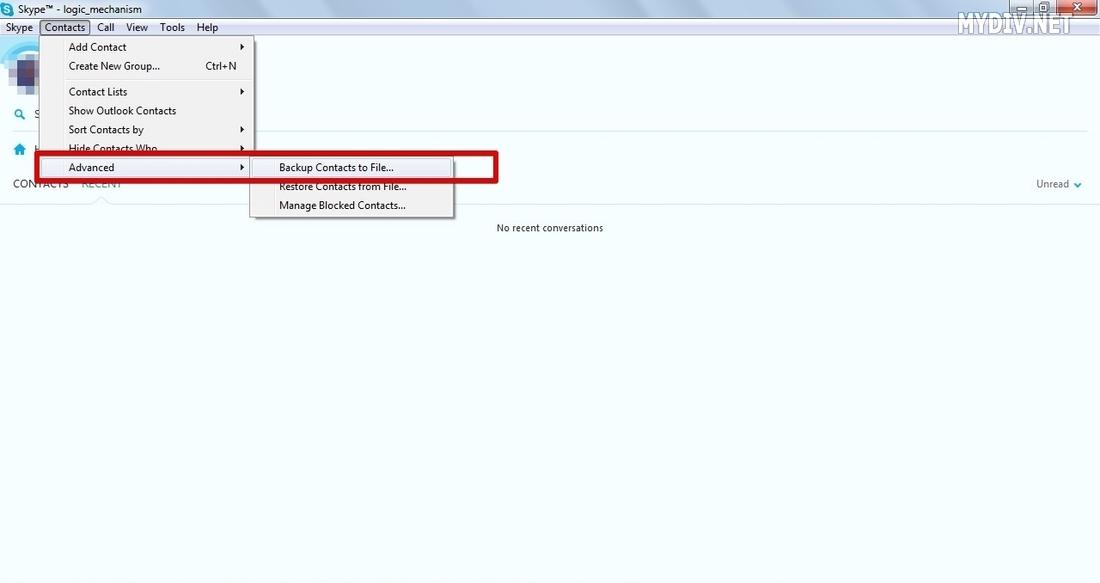 How to change Skype login name?