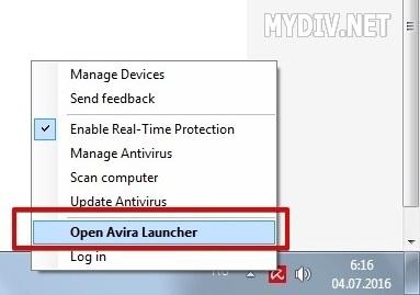 what is avira launcher