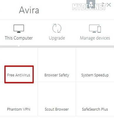 how to disable antivirus first